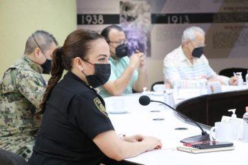 Encabeza Zepeda Soto Mesa de Seguridad Estatal