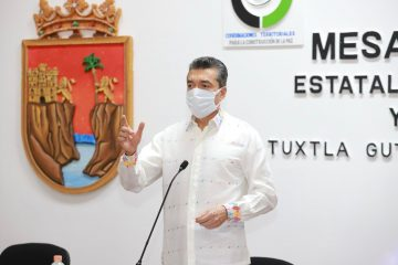 Avanza con éxito vacunación contra COVID-19 en Chiapas: Rutilio Escandón