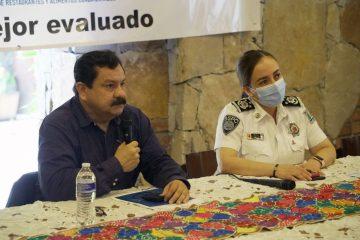 SSyPC agradece a CANIRAC Proyecto Policía Mejor Evaluado